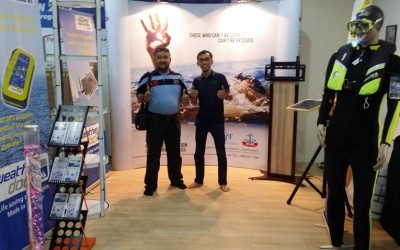 Weatherdock present at LIMA´15 in Malaysia