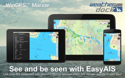 Connect easyAIS to your Android device with WinGPS Marine