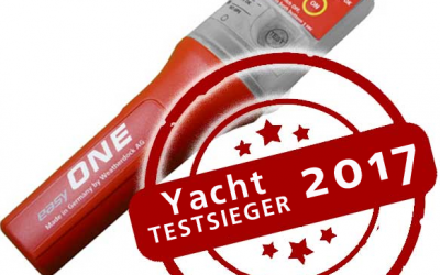 German YACHT magazine once again tested AIS MOB devices available on the market for their strengths and weaknesses