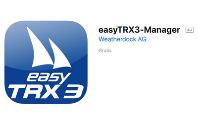 Available now: easyTRX3-Manager App (free download)