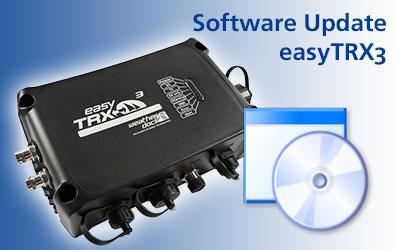 Software Update for easyTRX3 (v 1.6)