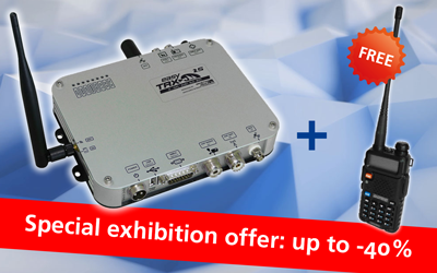 Special exhibition offer BOOT 2020: easyTRX2S + BAOFENG portable radio for free!*