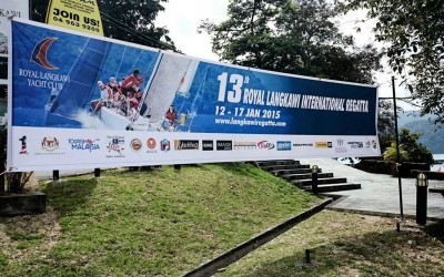 "Weatherdock: Patrocinador en ""The Royal Langkawi International Regatta"""