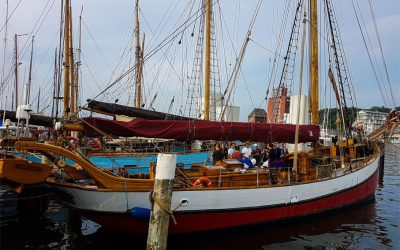 Fin de semana navegando con Arved Fuchs