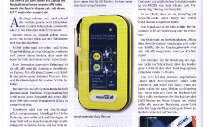 AIS S.A.R.T. easyRESCUE im Trans-Ocean-Magazin