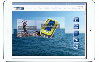 Weatherdock Webpage erstrahlt im neuen Glanz