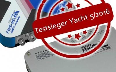 Weatherdock mit 2 Geräten Testsieger beim großen Vergleichstest für AIS Empfänger