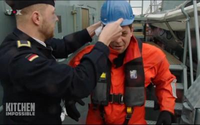 AIS Rettungssender easyRESCUE zusammen mit Starkoch Tim Mälzer