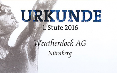 Weatherdock AG für den Großen Preis des Mittelstands 2016 nominiert