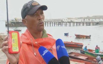 vmsTRACK in Einsatz an der Küste von Südafrika
