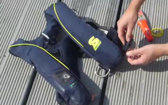 easyONE für automatische Schwimmweste