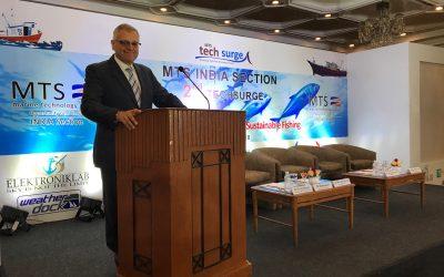 Weatherdock auf der 2. Techsurge Konferenz in Chennai, Indien