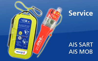 Serviceintervalle der AIS SART & MOB Geräte