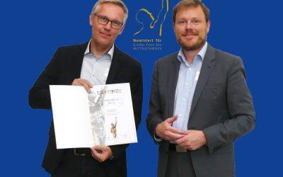 """Weatherdock erreicht Finalrunde beim """"Großen Preis des Mittelstandes 2019"""""""