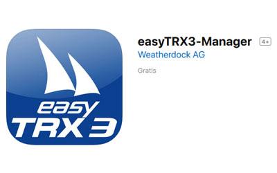 Ab sofort easyTRX3-Manager App kostenlos zum Download verfügbar