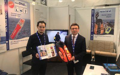 Weatherdock Vertriebspartner auf der EXPOSHIPPING Istanbul