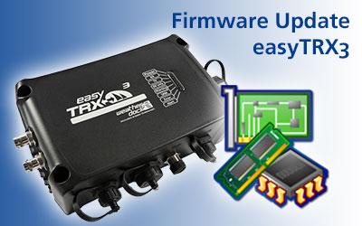 easyTRX3 Firmware Update verfügbar