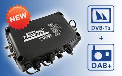 AIS Class B SOTDMA Sende-Empfänger easyTRX3 jetzt mit DVB-T2 & DAB+